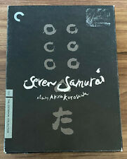 Seven Samurai Dvd 3-Disc Special Edition With Booklet Criterion Collection