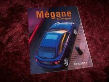 Catalogue / Brochure RENAULT Megane Coupé 1998 //