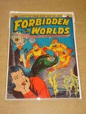 FORBIDDEN WORLDS #2 VG+ (4.5) ACG COMICS GIANT SEPTEMBER 1951