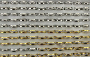 Wholesale Lots 35pcs Mixed Color Men's Rings Stainless Steel Rhinestone Jewelry
