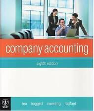 Company Accounting eighth  edition by Hoggett, Leo, Sweeting, Radford