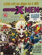 ALBUM  RELIE SUPER X-MEN N° 3 COLLECTION SUPER HEROS ED LUG (VOIR DESCRIPTION)