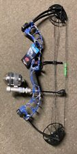 PSE D3 BLUE Bowfishing Compound Bow,FISHING MUZZY REEL REST FINGERS