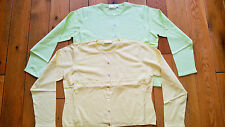 Medium Waist Length Cotton Button Women's Jumpers & Cardigans