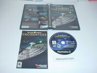 STAR TREK: ENCOUNTERS game complete in case w/ Manual for Playstation 2 PS2