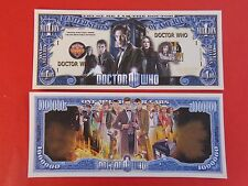 DOCTOR WHO $1,000,000 One Million Dollar Bill ** See STORE for GREAT GIFT IDEAS+