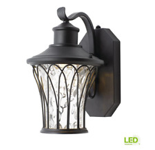 LED Wall Lantern Outdoor Lighting Weather Resistant Dusk - Dawn Photocell Sensor