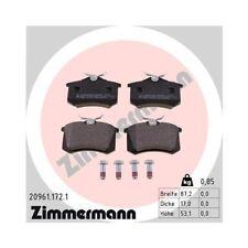 Bremsbelagsatz, Scheibenbremse ZIMMERMANN 20961.172.1 für AUDI CHRYSLER CITROËN