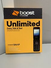 Boost Mobile Coolpad Snap Flip Phone New Sealed Box