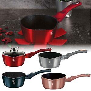 Berlinger Haus 16cm Non Stick Saucepan Cookware Induction Hob Cooking Pots Pan