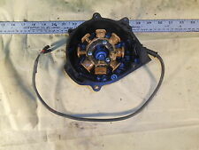 1984 HONDA XR200 ENGINE STATOR MAGNETO IGNITER + LEFT SIDE COVER XR 200 250 84