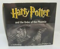 Harry Potter & The Order Of The Phoenix Audio Book 22 Cassette Tapes Stephen Fry