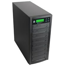 1 to 7 Multiple DVD/CD Discs Copy Burners Duplicator with Asus 22x Writers Drive