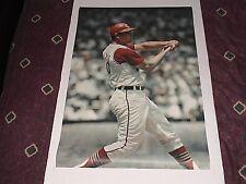 Vintage Original1968 Max Alvis 'Sports Illustrated' Poster MLB Cleveland Indians