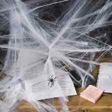 Stretchable Spiderweb Halloween Decoration