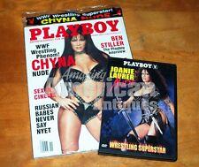 Playboy Magazine - November 2000 - Chyna - Joanie Laurer Nude - WWE - WWF