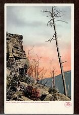 1902 Sunset Rock Kaaterskill Clove Catskill mountains New York postcard