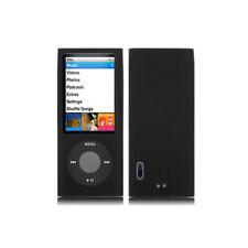 Housse etui coque silicone noire iPod Nano 5 5G