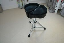 More details for ahead spinal glide drum throne in superb condition. black.