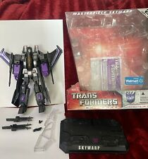 Transformers Masterpiece Skywarp Hasbro Walmart Exclusive COMPLETE w/ Box