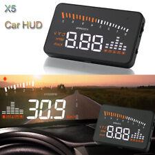 "M6 HUD 3.5/"" OBD II 2 Speed Warning Gauge Fuel Consumption For Honda Civic type-R"