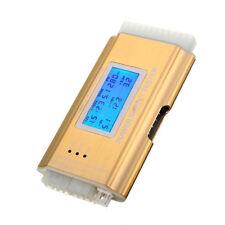 LCD PC Supply Tester Power Supply 20/24 Pin 4 PSU ATX BTX ITX SATA HDD Gold K2E3