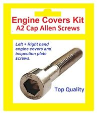Stainless A2 Cap Allen Engine Covers Kit - Yamaha TDM850