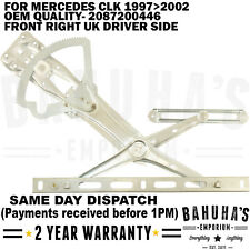 WINDOW REGULATOR-  FOR MERCEDES CLK C208/ A208 1997-2002 FRONT RIGHT DRIVER SIDE