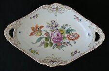 Antique Authentic Original KPM Berlin Floral Bowl in excellent condition