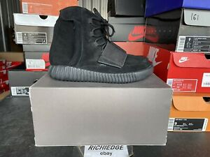 Adidas Yeezy Boost 750 Triple Black Size 10 Worn Once 100% Authentic