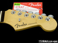 2017 American Fender ELITE Stratocaster Strat NECK + LOCKING TUNERS USA Rosewood