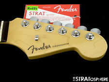 2017 American Fender ELITE Stratocaster Strat NECK + LOCKING TUNERS USA Rosewood