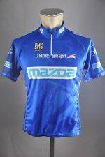 Santini mazda gazzetta cycling jersey bike Gr. L BW 54cm Rad Trikot V5