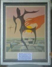 "Man Ray litografia originale ""Rebus II"" firmata a matita prova d'artista 1972"