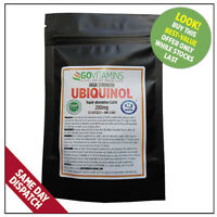 BEST SELLING PURE Ubiquinol 200mg softgels FOR A HEALTHY HEART – GOVITAMINS