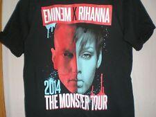 Eminem/Rihanna T SHIRT The Monster Tour 2014 Detroit MEDIUM