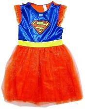 Girls Costume Super Girl Fancy Dressing Up Outfit Superhero Kids 5 to 8 Years