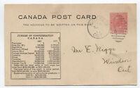 1917 Canada Confederation Jubilee Postal Card Cottam ONT [y3003]