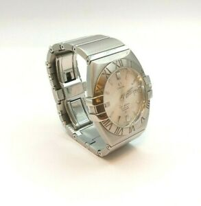 OMEGA CONSTELLATION DOUBLE EAGLE WATCH CALENDER GENTS 38mm (1)