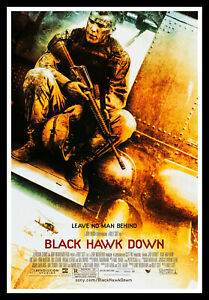Black Hawk Down Movie Poster Print & Unframed Canvas Prints