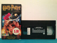 Harry potter a l'ecole des sorciers    VHS tape & sleeve RENTAL  FRENCH