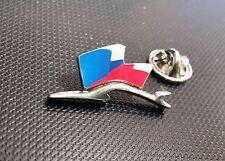 Porsche Pin Silhuette Flagge Tschechische Republik 28x15mm limitierte Auflage