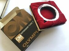 Mint Boxed Olympus OM Auto Extension Tube 7 fits OM-1 OM-2 OM-3 OM-4 OM-10 etc