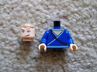 LEGO Minifig - Rare Avatar The Last Airbender - Sokka Head & Torso - New