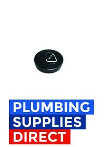 * New Replacement Black Plastic Bath Kitchen Sink Plug Water Stop Stopper 40mm
