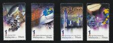 MALAYSIA 2010 ONE MALAYSIA COLLECTION COMP. SET OF 4 STAMPS IN MINT MNH UNUSED