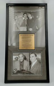 Joe Louis and Max Schmeling– young and old