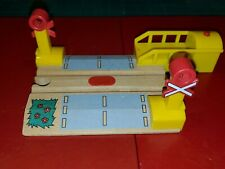 BRIO Blinking Sweden Railroad Crossing With Sound for Thomas  Train Set