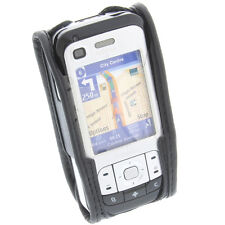 Cellphone Pouch Nokia 6110 Navigator with View Function and Belt Clip Black