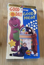 VHS Barney Classic Collection Good Day Good Night Kids Fun Educational Free Ship